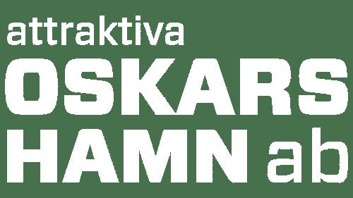 Vit logga Attraktiva Oskarshamn AB